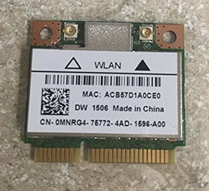 DW1506 WIRELESS CARD DRIVER FOR WINDOWS 8