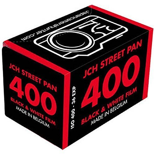 JCH Street Pan ISO 400 Black & White Film 36 Exposure Roll StreetPan (Black And White Film 35mm 200)