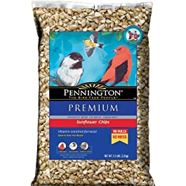Pennington 515631 Select Sunflower Chips 5.5lb, Brown/A