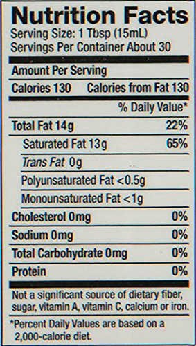 Nutiva Organic, Cold-Pressed, Unrefined, Virgin Coconut Oil from Fresh, non-GMO, Sustainably Farmed Coconuts, 15-ounce (Pack of 2) by Nutiva (Image #1)