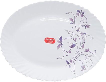 d1811a0982 Buy Diva Dazzle Purple Glass Dinner Set