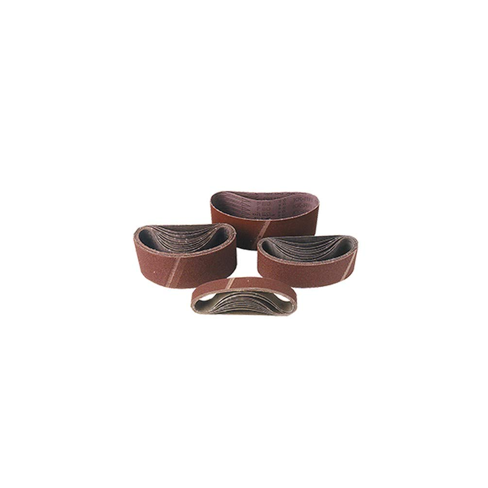 40 pour bois 7191440 Leman Lot de 2 bandes toile pour machine stationnaire 100 x 914 mm Gr Leman