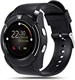 Heypex V8_0082 Sports Bluetooth Smartwatch with 4.1 Message Push | Sedentary Reminder | Pedometer | Sleep Monitoring Wristband Compatible with All Android, iOS & Windows Device (Assorted Colour)