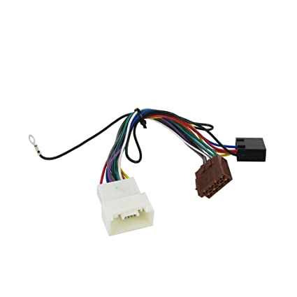 Amazon.com: Wiring Harness Adapter for Mitsubishi Lancer 2007- ISO on mitsubishi montero parts diagram, mitsubishi split system, 94 galant alternator wiring, mitsubishi radio wire diagram,