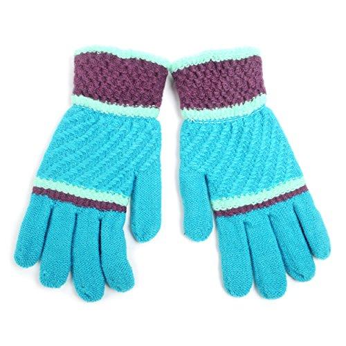 Ladies' Bright Knit Winter Gloves