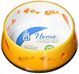 Catit Home Non-Skid Pet Bowl, 10.1-Ounce, Orange