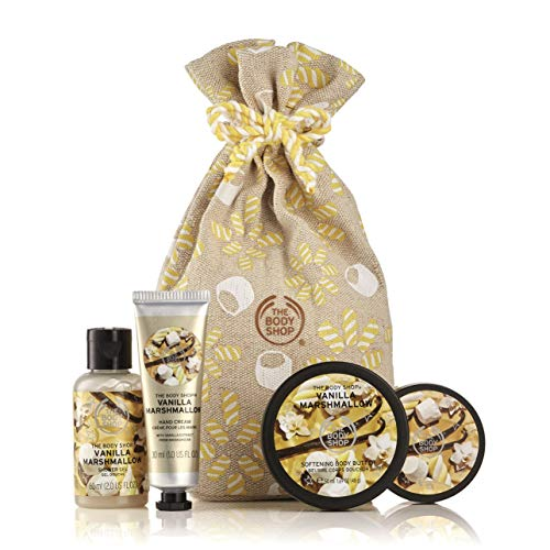 The Body Shop Festive Sack of Vanilla Marshmallow Delights Gift Set