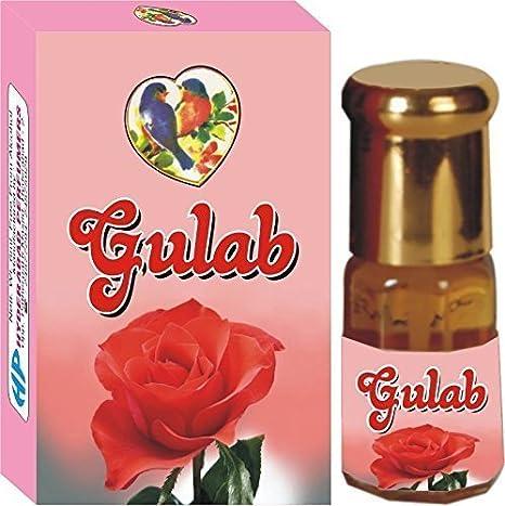 Hyderabad Perfumers Gulab (Rose) Exotic Perfume (12 Ml)