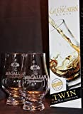 MACALLAN TWIN PACK GLENCAIRN SCOTCH MALT WHISKY TASTING GLASSES