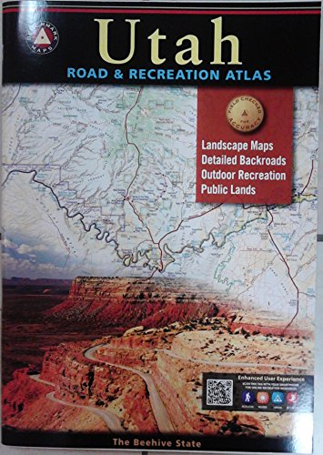Benchmark Utah Road & Recreation Atlas, 6th Edition (Topo Maps Utah)
