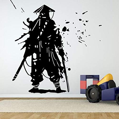 zxddzl Kendo Sticker Samurai Decal Japan Ninja Poster Vinyl ...