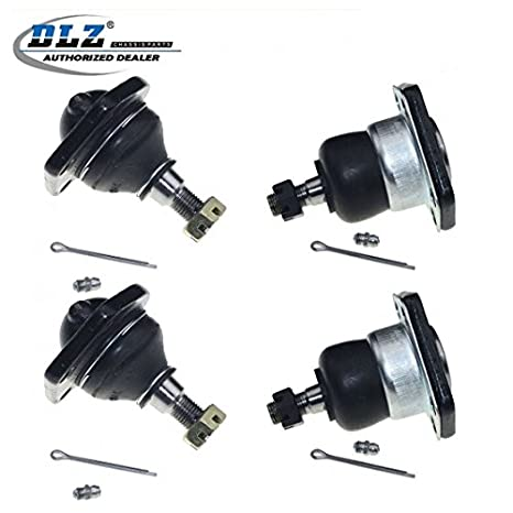 dlz 4 pcs front kit- lower upper ball joint compatible with 1999-2001  chevrolet