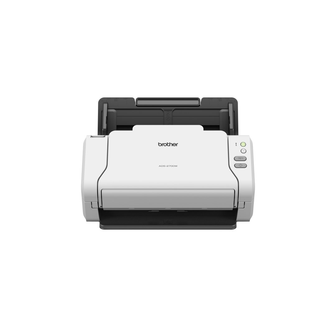 Brother ADS-2700W Scanner Documentale Desktop con Duplex, USB, Rete Cablata, WiFi, Touchscreen, Bianco 4977766776769 ADS2700WUN1 10_5837602