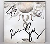 #8: Godsmack Autographed When Legends Rise CD Booklet Cover (signed by entire band). Identical artwork to album/cd cover.