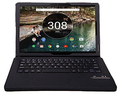 Google Pixel C Keyboard case, KuGi ® Google Pixel C case - High quality Ultra-thin Detachable Bluetooth Keyboard Stand Portfolio Case / Cover for Google nexus Pixel C tablet.