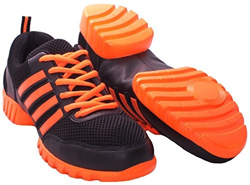 Nene's Collection Dance Fitness Sneakers Dance Legend Series Sneakers (7.5, Orange Fusion)