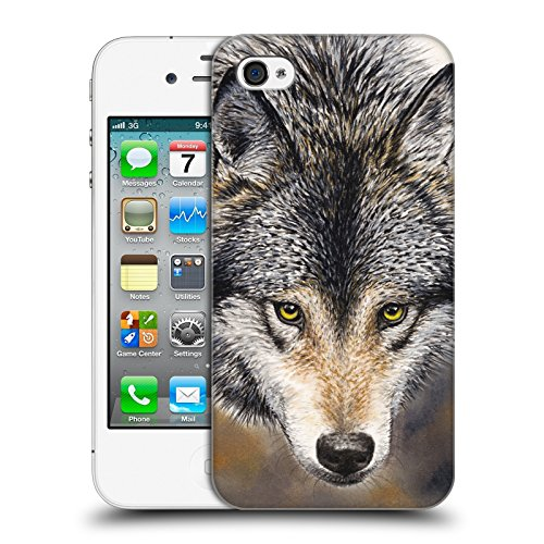 Cooliphone4Cases.com-2821-Nature\'s Beauty Canine Hard Back Case for Apple iPhone 4 / 4S-B01KX4ITFA-T Shirt Design