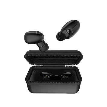 Mini Auriculares Inalámbricos Bluetooth V5.0 Verdaderos Auriculares Inalámbricos Con Estuche De Carga Portátil -