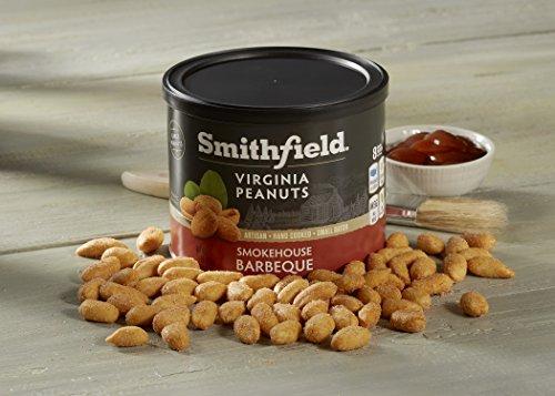 Smithfield Specialty Foods Smokehouse Virginia Peanuts, Barbecue, 10 - Specialty Nuts