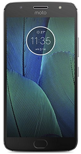 "New Motorola Moto G5s Plus-XT 1804- Unlocked Dual SIM- 4GB RAM- 5.5"" Full HD Display- 13+13MP Dual Back Camera- 64GB ROM- Lunar Grey"