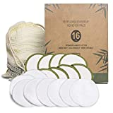 Reusable Make Up Remover Pads 16 Bamboo Removal