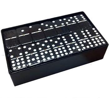 Domino Double Nine 9 Red Jumbo Tournament Pro Size Spinners Sheesham Wood Box