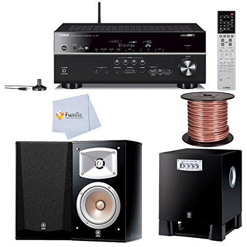 Yamaha Rx V677 7 2 Channel Wi Fi Network Av Receiver With