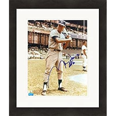 e95cf07b7a5 Autographed Maury Wills Picture - 8x10#SC6 inscribed MVP 62 Matted & Framed  - Autographed
