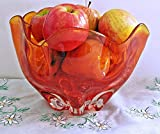 Home Comforts LAMINATED POSTER Bowl Apples Fruit Bowl Red Retro Glass Orange Poster