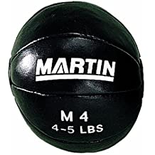 MARTIN SPORTS Genuine Leather Medicine Balls (4-5 lbs)