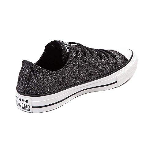 Converse Chaussures De Skate Haut Matelassées Pour Hommes Haut Glitter Noir