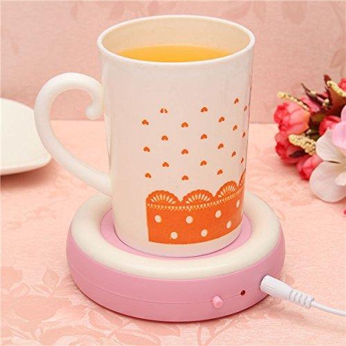 USB Powered Cup Warmer Heater Pad Hot Coffee Milk Tea Drinks Mug Warmer Office Buckdirect Worldwide Ltd. dk-1117