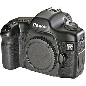 Canon EOS 5D Digital SLR Camera (Body Only) (Renewed)