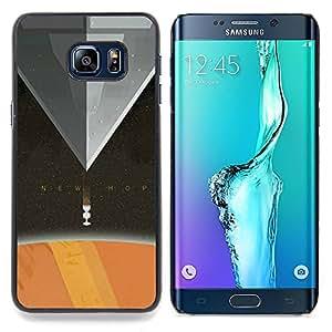 - New Hope - - Cubierta del caso de impacto con el patr??n Art Designs FOR Samsung Galaxy S6 Edge Plus Queen Pattern