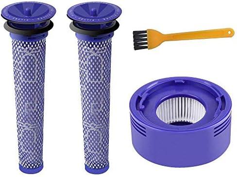 Cenblue Kit de Repuesto para Filtro Dyson de Repuesto Dyson V7 V8 ...