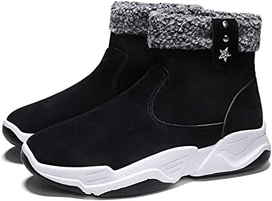 OYJS Mens Winter Snow Boots Outdoor
