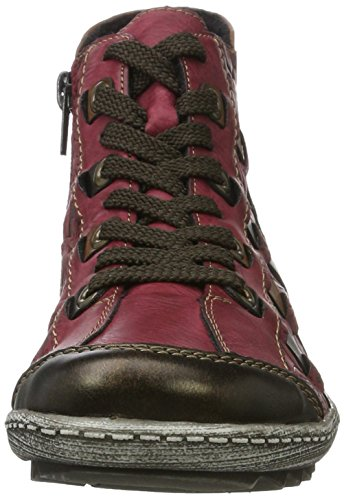 brandy R1482 Rouge antik Sneakers wine Femme 35 Hautes Remonte F0wgWvqq