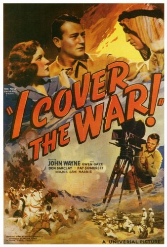 I Cover the War POSTER Movie (27 x 40 Inches - 69cm for sale  Delivered anywhere in USA