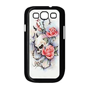 HXYHTY Phone Case Sugar Skull Hard Back Case Cover For Samsung Galaxy S3 I9300