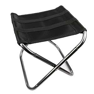 Amazon Com Fredhome Aluminum Portable Folding Stool Seat