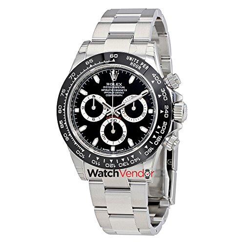 Rolex Daytona 116500LN BK Cosmograph Steel & Ceramic - Reloj automático para hombre