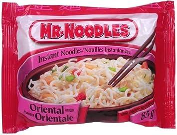 amazon com mr noodles oriental flavour instant noodles 6 packs