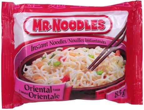Mr.Noodles Oriental Flavour Instant Noodles ( 6 Packs) by mrnoodle