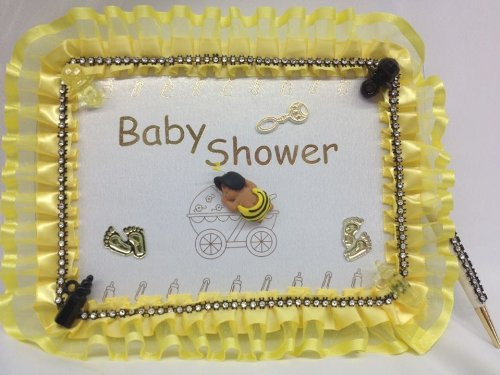 Baby Shower Ethnic Bumble Bee Guest Book