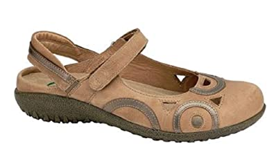 092cce457914 NAOT Footwear Women s Rongo Latte Brown Lthr Pewter Lthr Maryjane 35 ...