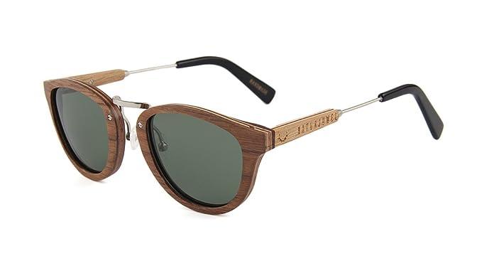 NATURJUWEL design - Gafas de sol madera Skateboard ...