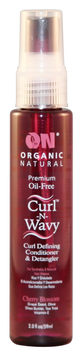 On Curl N Wavy Curl Defining Conditioner & Detangler, Cherry 2 oz. Next Image Products