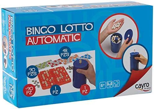 Cayro - Bingo automático - Juego tradicional - Juego de madera y ...