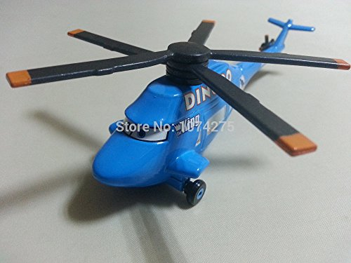 Pixar Cars Diecast Dinoco Helicopter Metal Toy - Diecast Dottie Planes