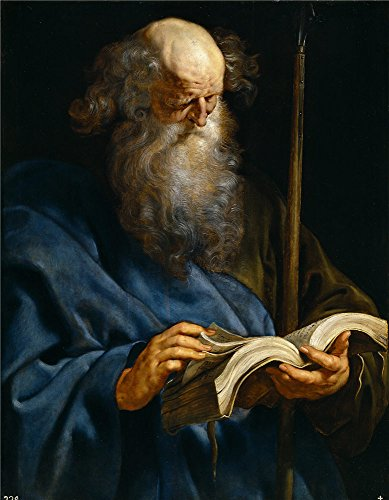 Oil Painting 'Rubens Peter Paul Saint Thomas Ca. 1611 ' Printing On Polyster Canvas , 18 X 23 Inch / 46 X 59 Cm ,the Best Dining Room Gallery Art And Home Decor And Gifts Is This Amazing Art Decorative Prints On Canvas